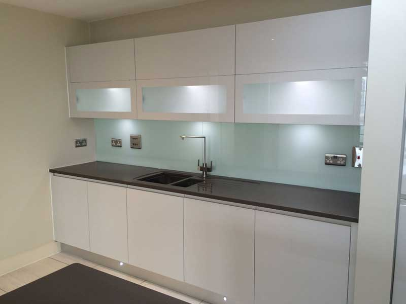 Light Green Kitchen Splashback
